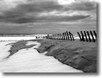 Snowy Sand, Jones Beach, Photo by Mike Mostransky
