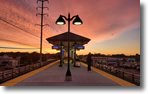 Monday 6:10 AM - Wantagh Station. New Week, New Begining. Photo by Akram Iskander.